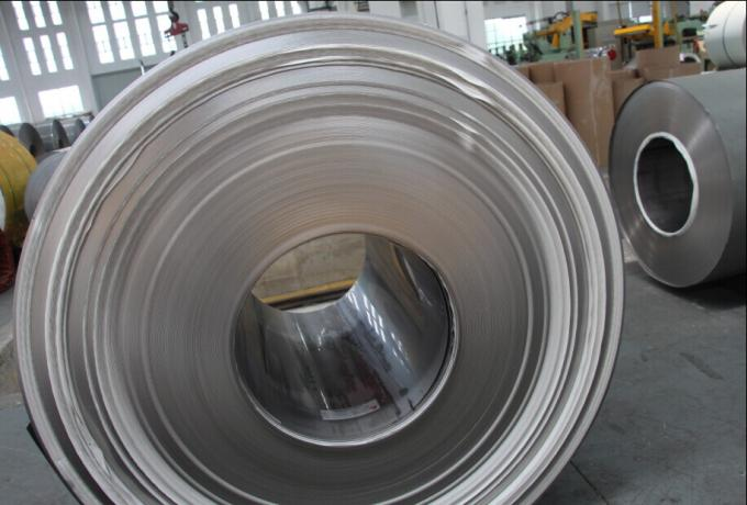 ASTM A240 , JIS G4304 , G4305 Hot Rolled Stainless Steel Coil 430 410 409 Customized