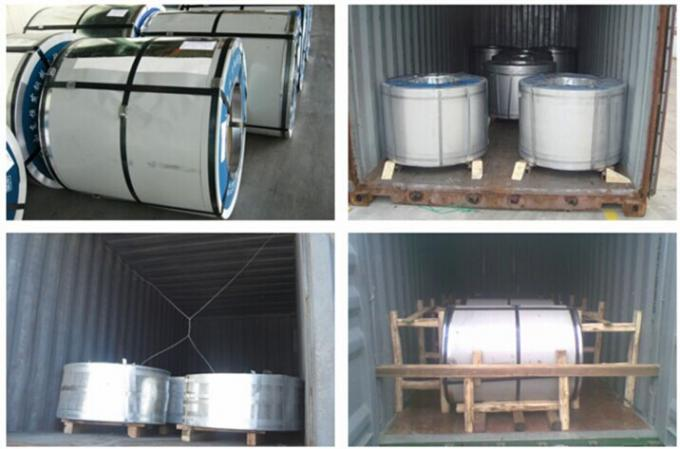 Cold Rolled hot dipped galvanizing Steel Sheet / Coils For Roofing AS 1397