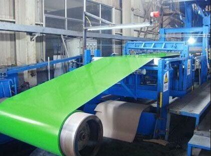 SPCC DC51D SGHC Hot Dipped Galvanized Color Coated Steel Sheet Coating / prepainted steel coil