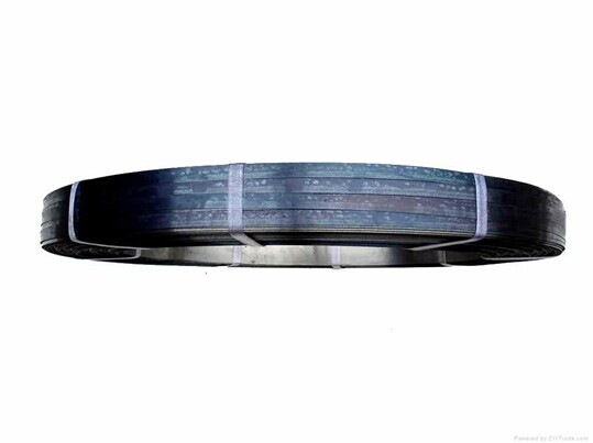 16mm ,19mm Q195 Q235 345B Cold Rolled Steel Strip Black Bainted & Blue For Packing