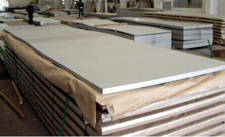 GB DIN EN Cold Rolled Stainless Steel Sheet , 409 SS Plate Thickness 0.3mm - 51mm
