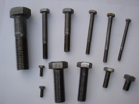 Full Thread Carton Steel Bolts and Nuts hardware TS/16949 GB DIN ISO ANSIAS BS UNI JIS