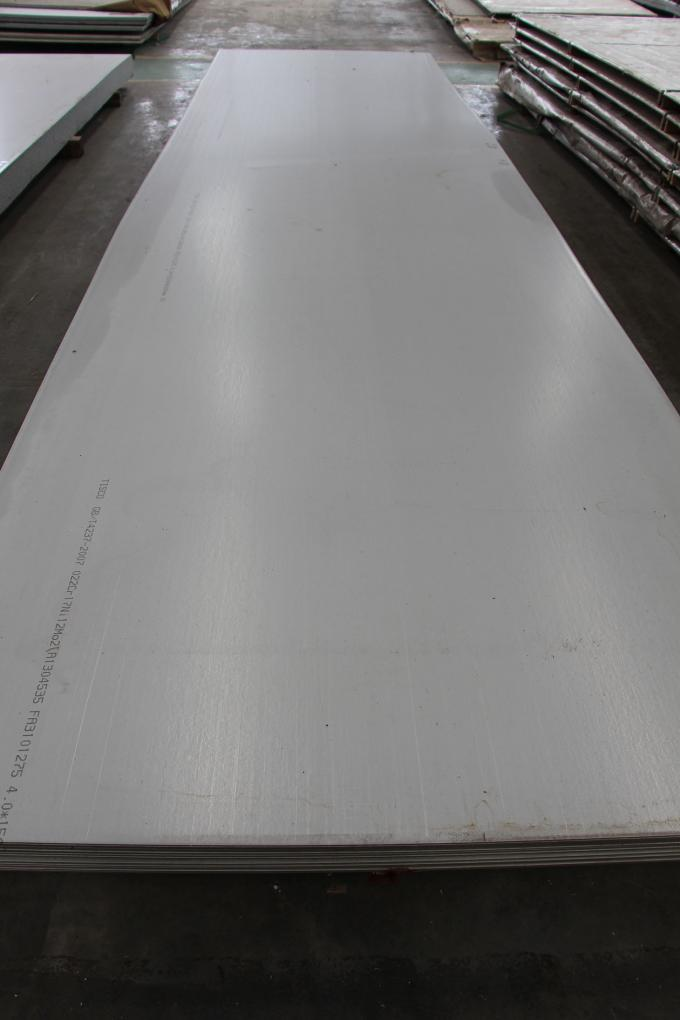 Hot / Cold Rolled Stainless Steel Plates 1500X6000mm A240M 304 321 304 316L 904L