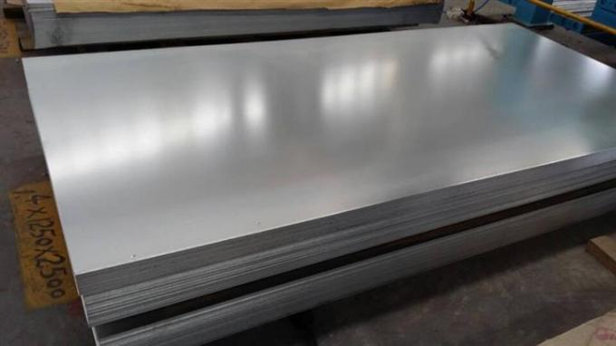 AISI 304 , 304L  Cold Rolled Stainless Steel Plates , BA / 2B Surface Plate
