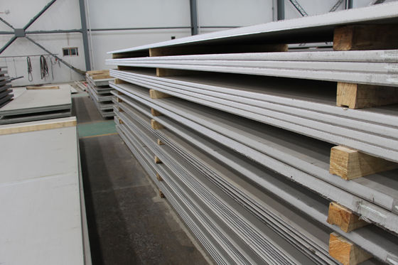 China Stainless Steel Sheeting 304 321 304 316l 316ti 904l Rolled Plates Chemical Use supplier