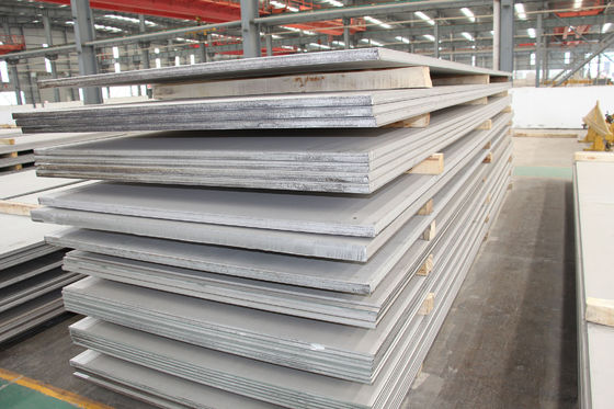 China Medium And Heavy Stainless Steel Plates 12x18H10T 10x17H13m2TI Material supplier