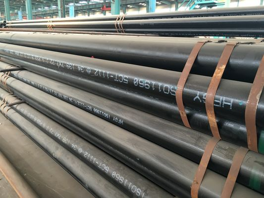 China Q345 ( A B C D E ) Structural carbon steel pipes & tubes Black painting supplier