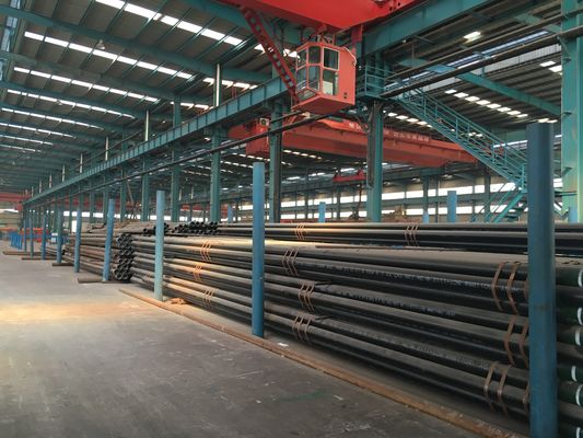 China Fluid 10 / 20 carbon steel pipe seamless ASTM A53M / A106M epoxy coated supplier