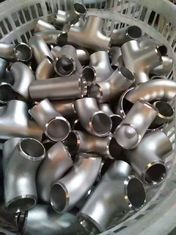 China Equal Tee steel tube fittings 2205 EURONORM 1.4462X2CrNiMoN 22.5.3 Polished supplier