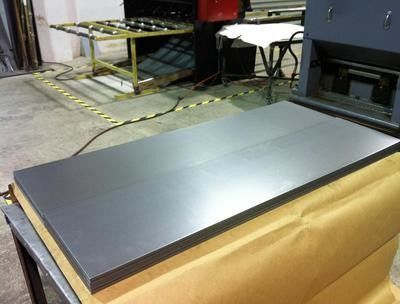 China AISI 316L Cold Rolled Stainless Steel Plates , BA / 2B Surface Plate supplier