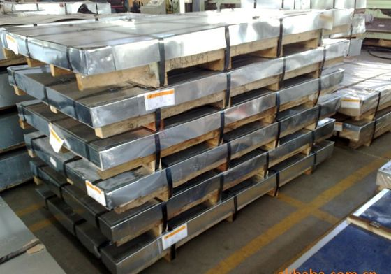 China AISI 304 , 304L  Cold Rolled Stainless Steel Plates , BA / 2B Surface Plate supplier