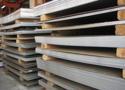 China AISI 430  Cold Rolled Stainless Steel Plates , BA  Surface flat steel plate supplier