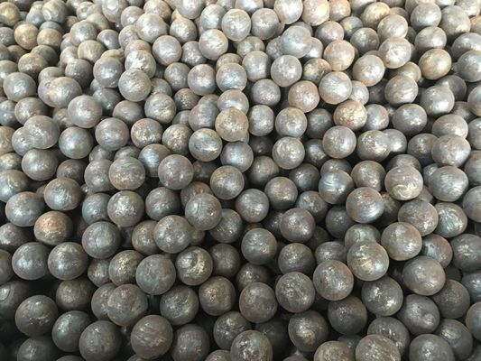 China Grade 45 , 60Mn , B2 Forged Steel Ball 20mm to 110mm For Grinding Mine and Ore supplier