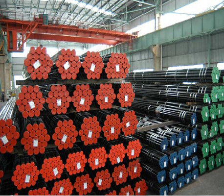 China OD 6 - 219MM Seamless Alloy Steel Pipe 12cr1moVG Material For Pressure Boiler supplier