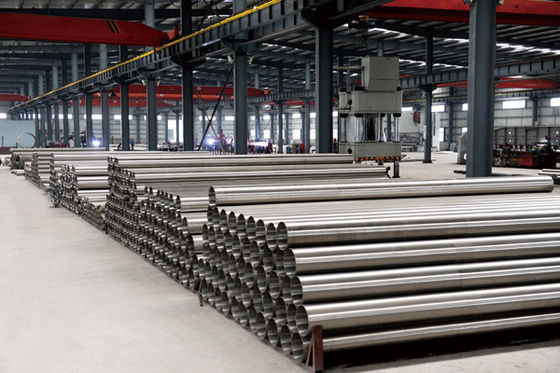 China ASTM A790 Welded 201 304 316L 309S Stainless Steel Pipe Tig , Plasma for furniture supplier