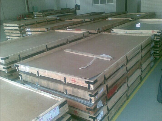China Cold rolled 2mm 4mm stainless steel plate 1000mm - 2000mm , Bright surface supplier