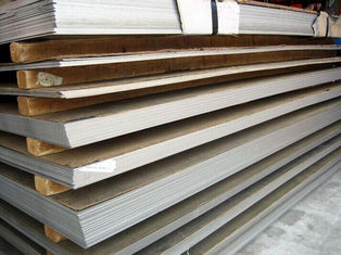 China Industry ASTM JIS GB Stainless Steel Plate 409 , 3.0mm - 16mm Mirror Finished supplier