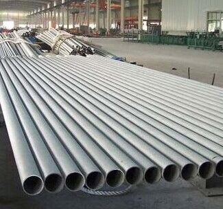 China Structure 100mm stainless steel pipe TP310S / 310H , TP321 , Pickled and Annealed supplier