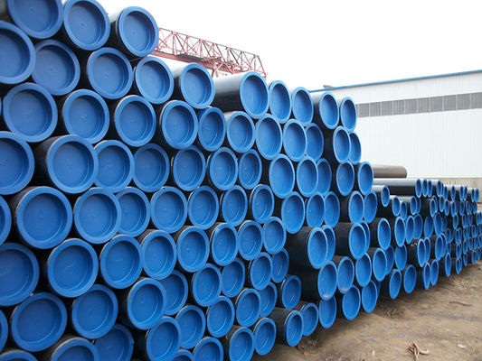 China Polyethylene coated , Large ASTM Carbon Steel Pipe For Oil , Structure ASME SA192 / SA179 supplier