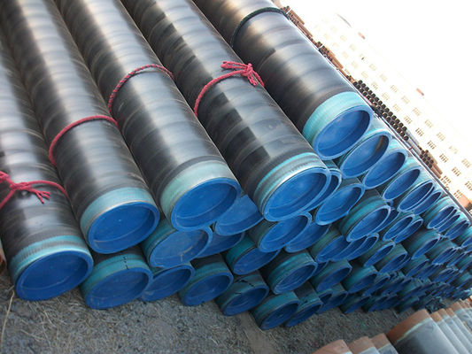 China 3PE Coated low temperature carbon steel pipe Hot drawn , DING 30670 , API5L supplier