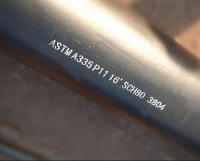 China Seamlss Alloy Steel Pipe for Power Plant ASTM A335 / ASME SA335 P5 P9 P11 P12 P22 P91 P92 supplier