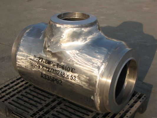 China ASTM P5 P9 T11 schedule 80 steel pipe fittings Hot rolled 1.24mm - 52.37mm supplier