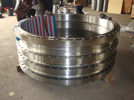 China Casting , Forged Stainless Steel Flanges 304L 316L Black painting , 150# - 3000# supplier