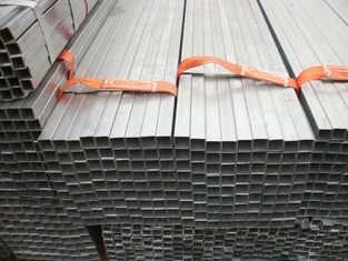 China GB/T8613 GB/T8612 square Carbon steel pipe / tubing 30 X 30 - 450 X 450MM supplier