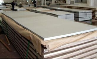 China GB DIN EN Cold Rolled Stainless Steel Sheet , 409 SS Plate Thickness 0.3mm - 51mm supplier