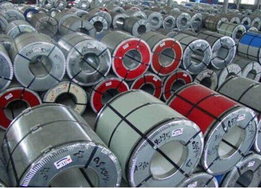 China Chromate Treatment Hot Dip Galvanized Steel Sheet SGC570 With Mini / Big / Zero Spangle supplier