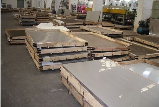 China ASTM 2B , BA , HL 316 10mm Stainless Steel mirror Sheet Plate for machine building supplier