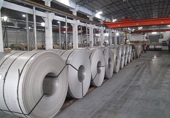 China 8k BA HL No.4 Cold / Hot rolled Stainless Steel Coil Plate For Tableware , Cabinet supplier
