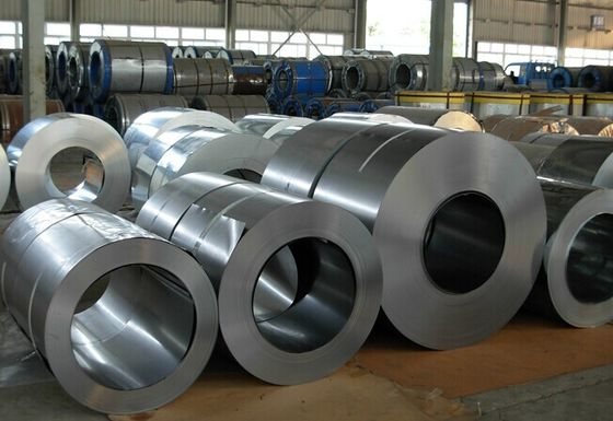 China 1000mm 1219mm Hot or Cold Rolled Steel Coil , 200 300 400 Series SS Coils JIS , AISI supplier
