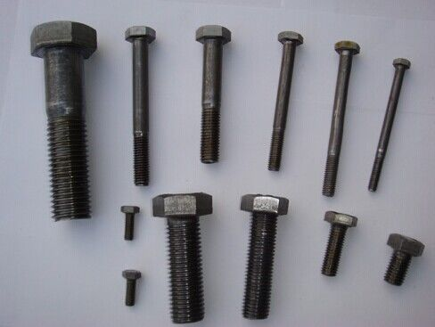 China Full Thread Carton Steel Bolts and Nuts hardware TS/16949 GB DIN ISO ANSIAS BS UNI JIS supplier