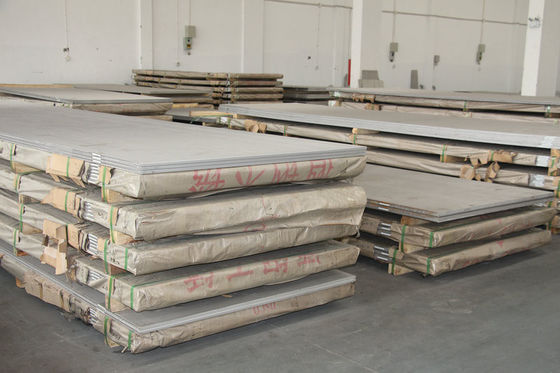 China ISO , SGS 304 321 316 Stainless Steel Sheet Cold / Hot rolled Plate 0.4mm - 50mm factory