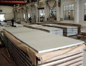 China 300 Series 316 Stainless Steel Sheet 1000mm - 2000mm , SS Plate AISI , ASTM factory